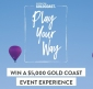 Win a Gold Coast Event Holiday (choice of event: Golf, Polo, Art Festival or Music Festival)